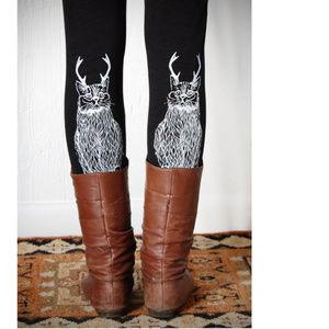 American Apparel Wild Cantelope Leggings